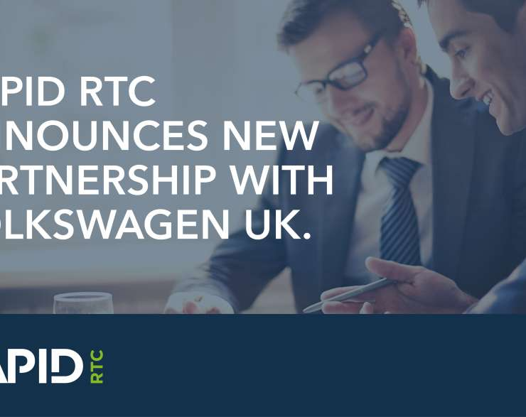 RAPID RTC announces new partnership with Volkswagen UK